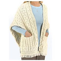 Merino Wool Shoulder Wrap