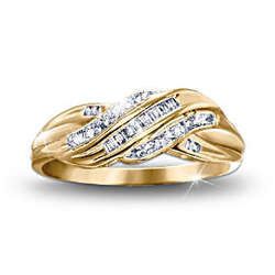 Diamond Embrace Women's Eternity Ring
