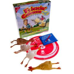 Flickin' Chicken Indoor/Outdoor Chicken-Tossing Game
