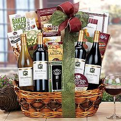 Hobson Estate Wine Quartet Gift Basket