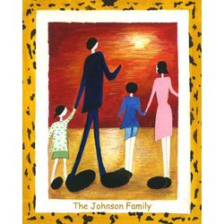 Family Abstract Fine Art Print