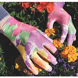 Floral Infusion Garden Gloves