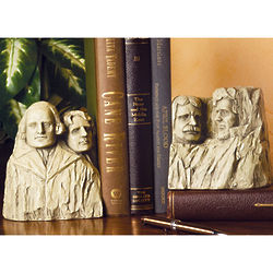 Mt. Rushmore Bookends