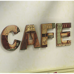 Cafe Parisian-style Sign