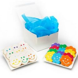 Flowers and Smiles Cookie Gift Box