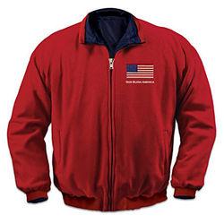 God Bless America Men's Jacket