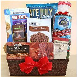 Gluten Free Treats Gift Basket