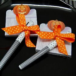 Halloween Sticky Notepad with Pen