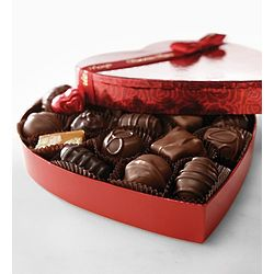 Assorted Chocolates in Heart Shaped Box