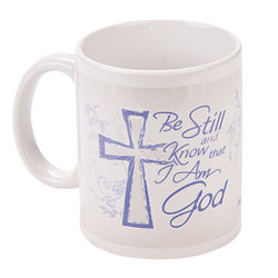 Custom Photo Be Still Faith Mug