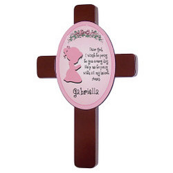 Girl's Bedroom Prayer Cross