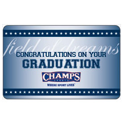 $100 Champs Sports Graduation Gift Card