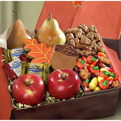 Autumn Harvest Fruit and Sweets Box