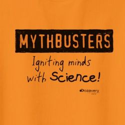 MythBusters Igniting Minds with Science! Kid's T-Shirt