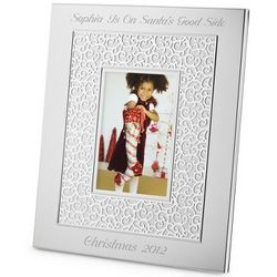 Engravable 2012 Make-A-Wish Pierced Picture Frame with Photo