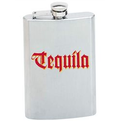 Personalized Tequila Flask