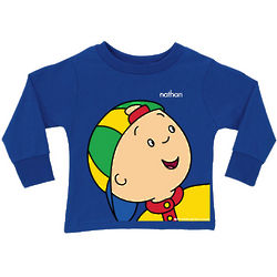 Caillou Close-Up Long Sleeve Shirt