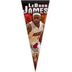 LeBron James Miami Heat Felt Pennant