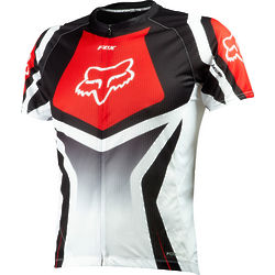 Fox Livewire Race Red Bike Jersey
