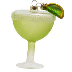 Handcrafted Margarita Ornament