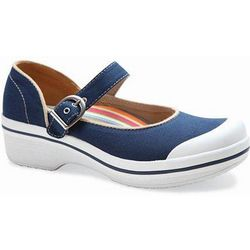 Valerie Canvas Mary Jane Shoes