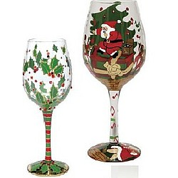 Lolita Wine Glasses Holiday Gift Set