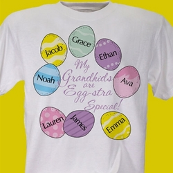 Eggstra Special Personalized T-Shirt