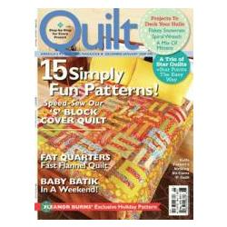 Quilt Magazine Subscription
