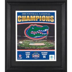 Florida Gators Framed Unsigned Photograph
