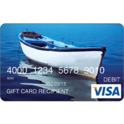 $100 Boat Visa Gift Card