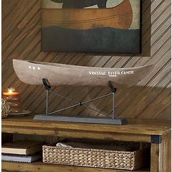Vintage Canoe