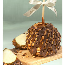 Gourmet Honey Roasted Peanut & Caramel Apple