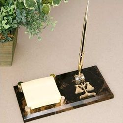 Marble Legal Memo Pad with Pen