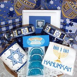 Hanukkah Mug Gift Basket