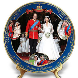Royal Wedding William and Catherine Collector's Plate