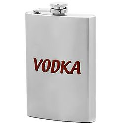 Personalized Vodka Flask