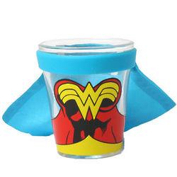 Wonder Woman Caped Shot Glass