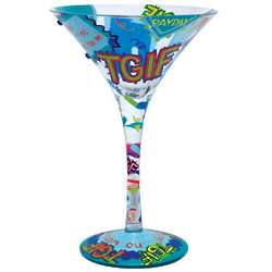 TGIF Martini Glass