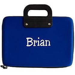 Art Kit in Personalized Blue Case