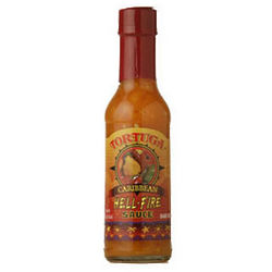 Tortuga Caribbean Hell Fire Hot Pepper Sauce