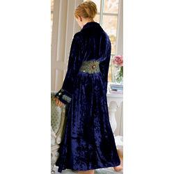 Vintage Style Starlet Velvet Robe