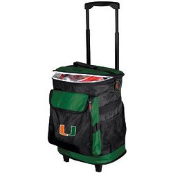Miami Hurricanes Rolling Cooler