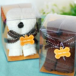 Doggy Hand Towel Favors