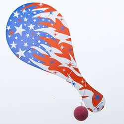 Patriotic Paddleball Games
