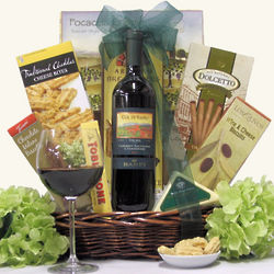 Banfi Col di Sasso Toscana Italian Themed Wine Gift Basket