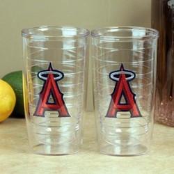 Los Angeles Angels of Anaheim Team Logo Tumbler Set