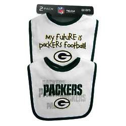 Packers Infant Bib Set