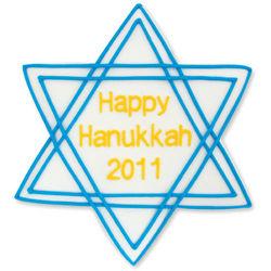 Hanukkah Star of David Cookies