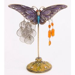 Purple Butterfly Earring Stand