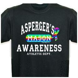 Asperger's Awareness Athletic Dept. T-Shirt